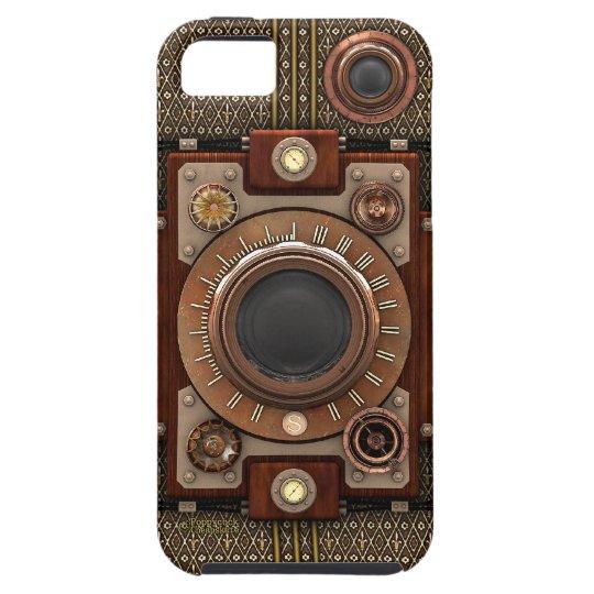Vintage Steampunk Camera #1D (De Luxe!) iPhone SE/5/5s Case