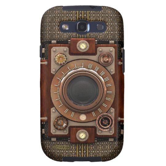 Vintage Steampunk Camera #1D (De Luxe!) Samsung Galaxy S3 Case
