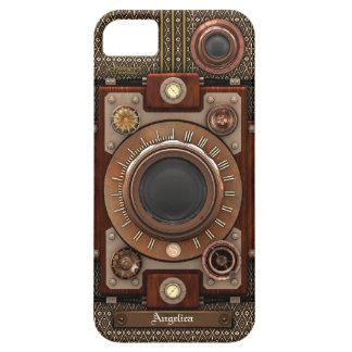 Vintage Steampunk Camera #1E (De Luxe!) iPhone SE/5/5s Case