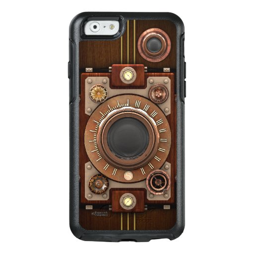 Vintage Steampunk Camera No.1B iPhone 6/6S Cases