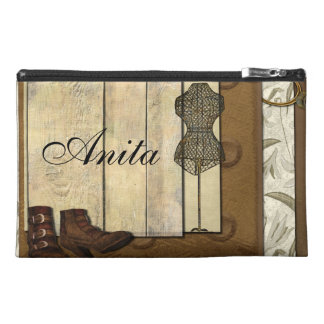 Vintage Steampunk Collage Travel Accessories Bags