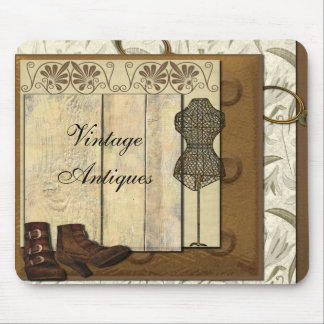 Vintage Steampunk Collage Mouse Pad