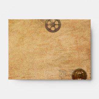 Vintage Steampunk Envelope