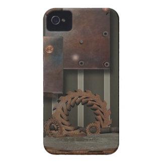 Vintage SteamPunk Gears Hinges iPhone 4 Case