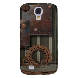 Vintage SteamPunk Gears HTC-Vivid-Tough Samsung Galaxy S4 Cover