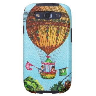 Vintage Steampunk Hot Air Balloon Samsung Galaxy SIII Case