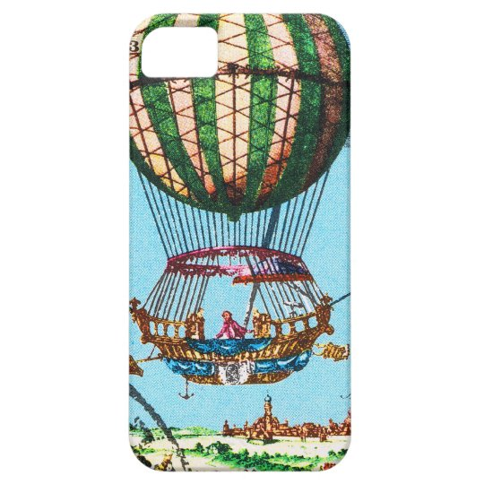 Vintage Steampunk Hot Air Balloon iPhone SE/5/5s Case