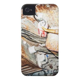 Vintage Steampunk Industrial Background Case-Mate iPhone 4 Case