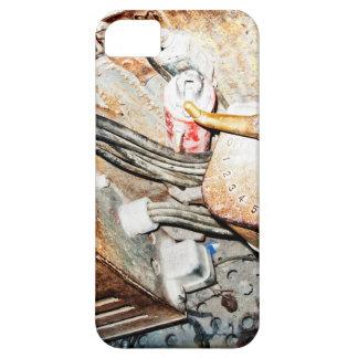 Vintage Steampunk Industrial Background iPhone SE/5/5s Case
