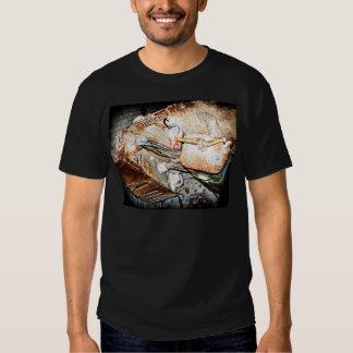 Vintage Steampunk Industrial Background T Shirt