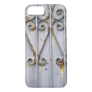 Vintage steampunk pattern metal rustic chic goth iPhone 8/7 case
