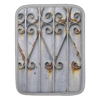 Vintage steampunk patterned metal photo sleeve