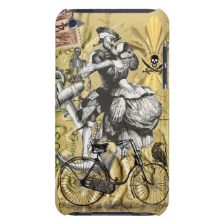 Vintage steampunk pirate barely there iPod cover