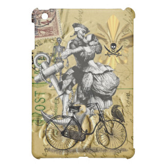Vintage steampunk pirate iPad mini case