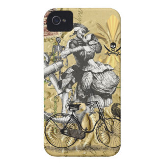 Vintage steampunk pirate iPhone 4 Case-Mate case