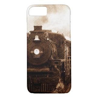 Vintage Steampunk Railroad Antique Steam Train iPhone 7 Case