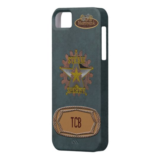 Vintage SteamPunk Sheriff iPhone 5 Cover