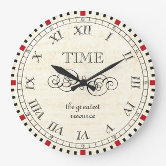 Vintage Steampunk Style Philosophy Clock