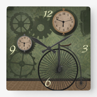 Vintage Steampunk Theme Wall Clock