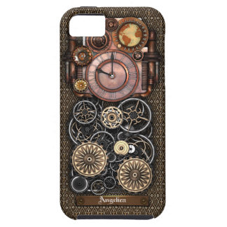 Vintage Steampunk Timepiece Redux 2 iPhone 5 Cover