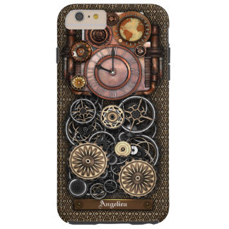 Vintage Steampunk Timepiece Redux #2 Tough iPhone 6 Plus Case