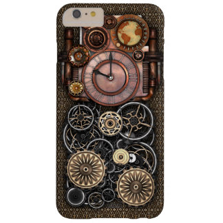 Vintage Steampunk Timepiece Redux Barely There iPhone 6 Plus Case