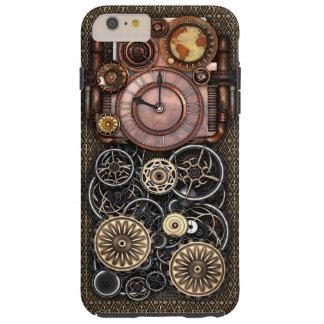 Vintage Steampunk Timepiece Redux Tough iPhone 6 Plus Case