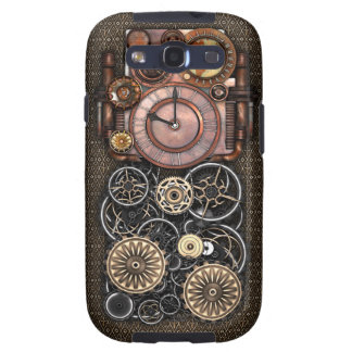 Vintage Steampunk Timepiece Redux Samsung Galaxy S3 Cover