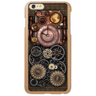 Vintage Steampunk Timepiece Redux Incipio Feather Shine iPhone 6 Plus Case
