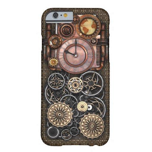 Vintage Steampunk Timepiece Redux iPhone 6/6S Case
