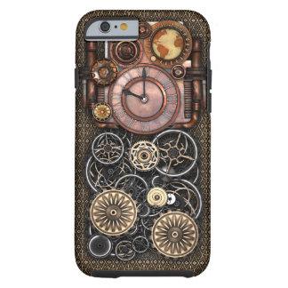 Vintage Steampunk Timepiece Redux Tough iPhone 6 Case
