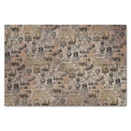 Vintage Steampunk Tissue Paper