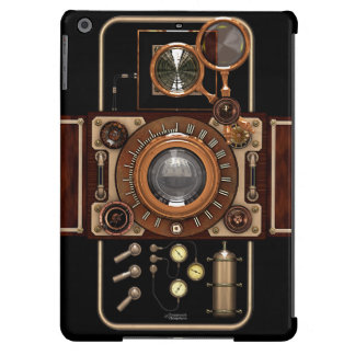 Vintage Steampunk TLR Camera #2B iPad Air Covers