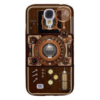 Vintage Steampunk TLR Camera Galaxy S4 Cases
