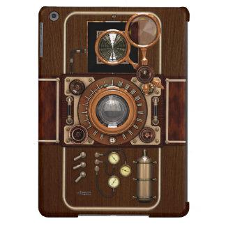 Vintage Steampunk TLR Camera iPad Air Covers