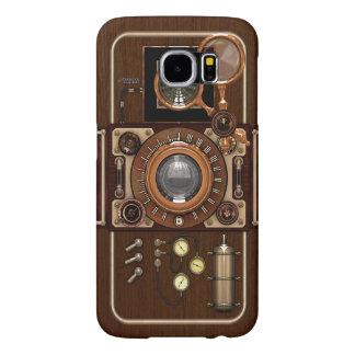 Vintage Steampunk TLR Camera Samsung Galaxy S6 Case