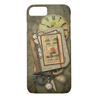 Vintage Steampunk Travel iPhone 7 case