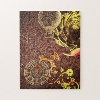 Vintage Steampunk Wallpaper Jigsaw Puzzle