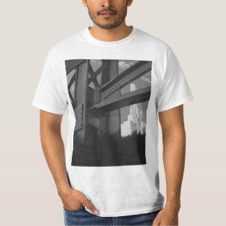 Vintage Steel Construction Skyscraper Architecture T-Shirt