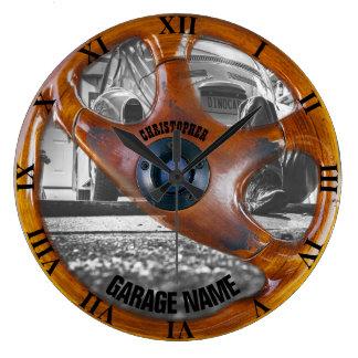 Garage Wall Clocks Zazzle
