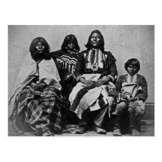Vintage Stereoview de la familia del Ute Tarjetas Postales