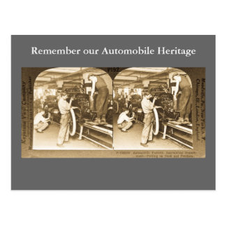 Vintage Stereoview - nuestra herencia del Postal