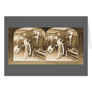 Vintage Stereoview - nuestra herencia del Tarjeta De Felicitación
