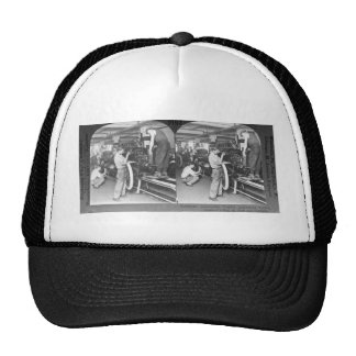 Vintage Stereoview - Our Automobile Heritage Trucker Hat