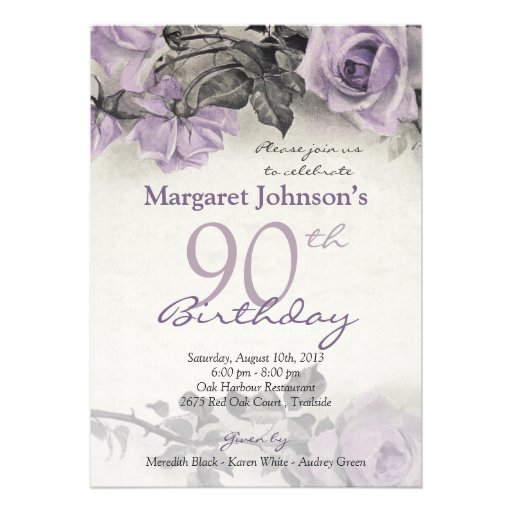 Wording For 90Th Birthday Party Invitations is best invitations layout