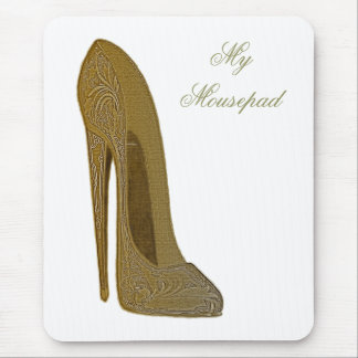 Vintage Stiletto Shoe Art Gifts Mouse Pad