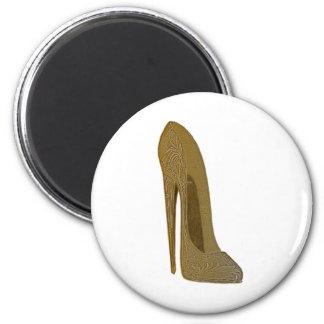 Vintage Stiletto Shoe High Heel Art Gifts 2 Inch Round Magnet