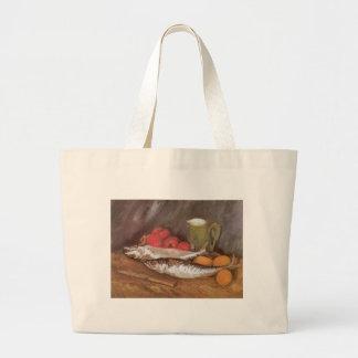 Vintage Still Life Vincent van Gogh Impressionism Canvas Bag