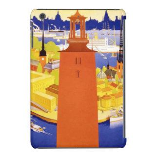 Vintage Stockholm Sweden iPad Mini Retina Cover