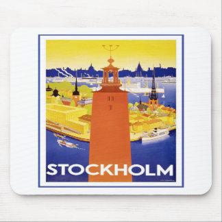 Vintage Stockholm Sweden Mousepad